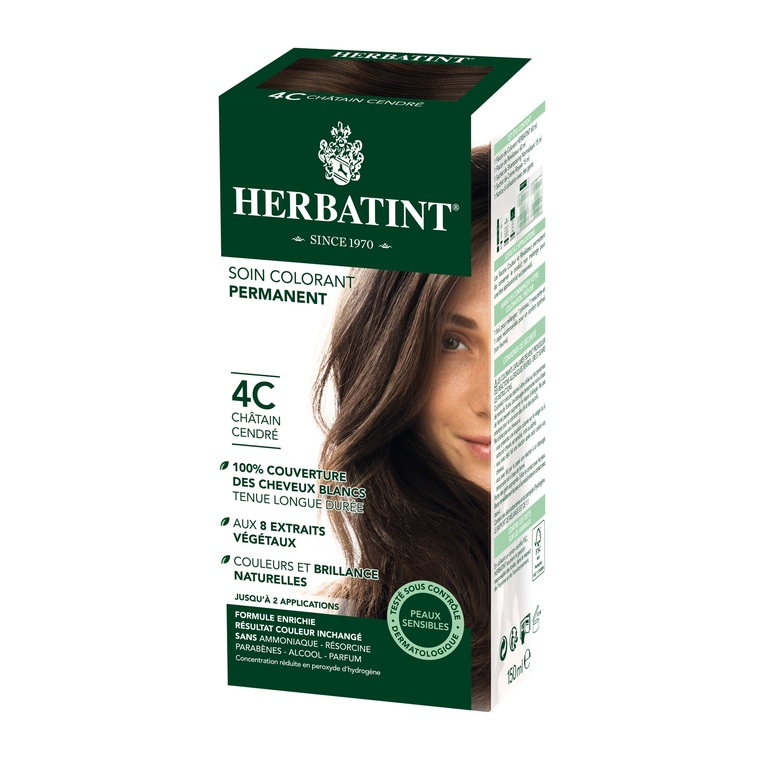 Coloration Herbatint Châtain Cendré - 4C.145 ml 122855