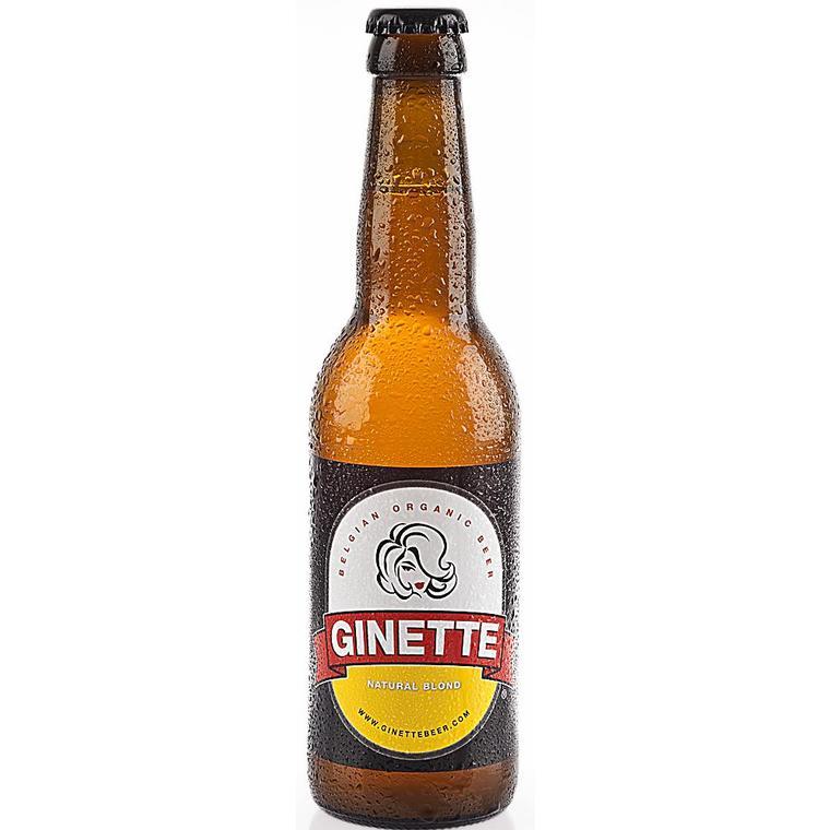 Bière blonde Ginette 33 cl