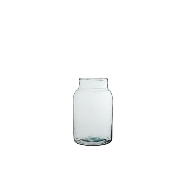 Vase Vienne en verre transparent H 35 Ø 21 cm 122914