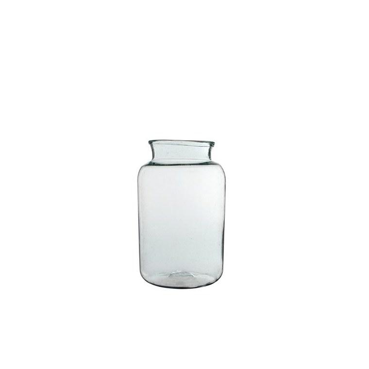 Vase Vienne en verre transparent H 40 Ø 23 cm 122915