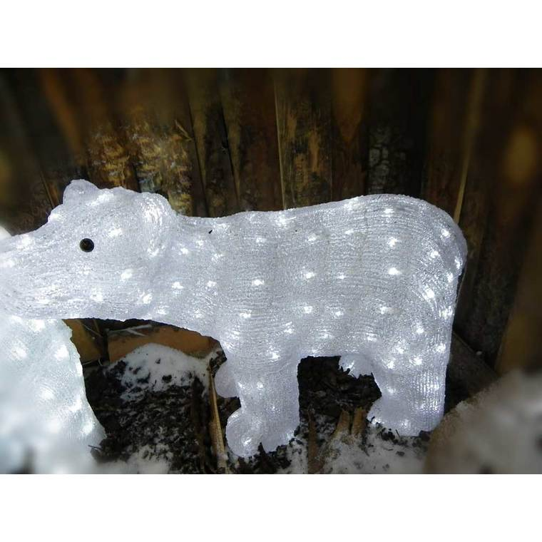 Ours lumineux 70 cm 123788