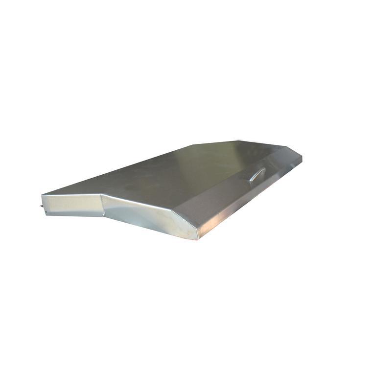 Couvercle de plancha en inox 126171