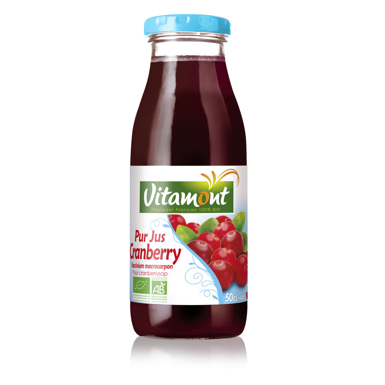 Pur jus de cranberry bio 50 cl 127806