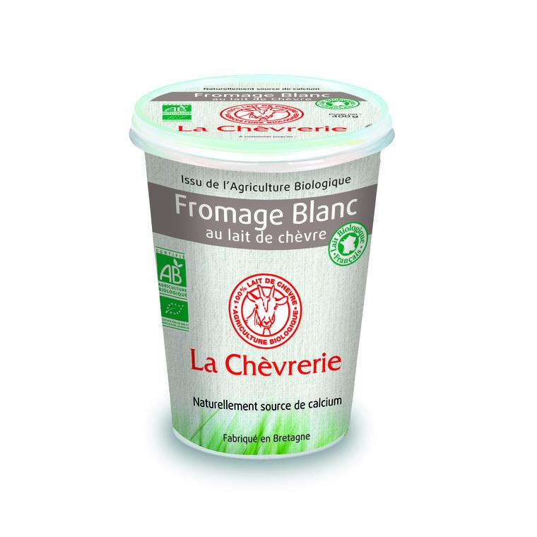 Fromage de chèvre blanc nature - 400 g 127991