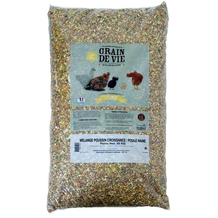 Céréales poussin croissance / poule naine