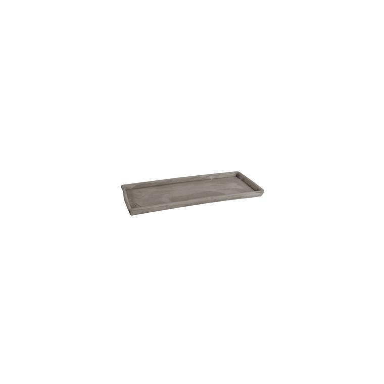 Soucoupe rectangulaire L.16x26 129977