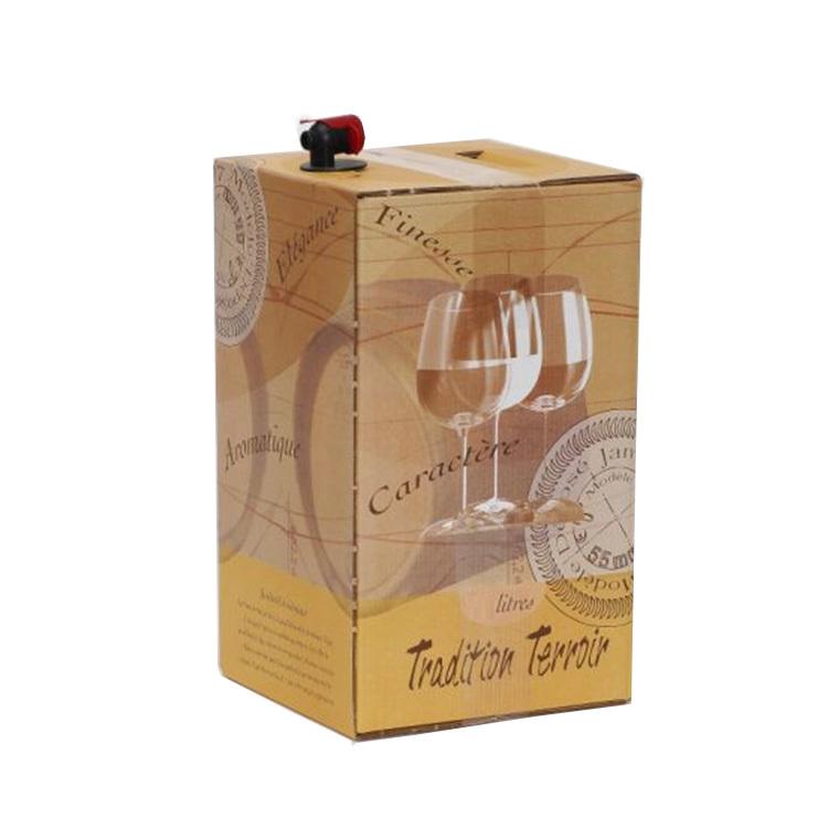 Vin bio rosé IGP pays d'oc Caladoc cubi 5 L DOMAINE DE LA TOUR 130321
