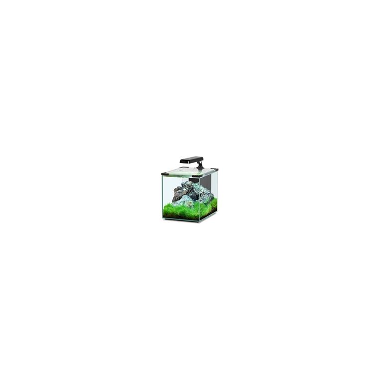 Aquarium nano cubic 20 noir sans chauffage 130371