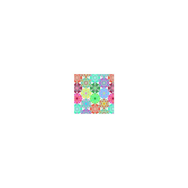 Serviettes x20 3 plis 33x33 cm Mandala multi 130393