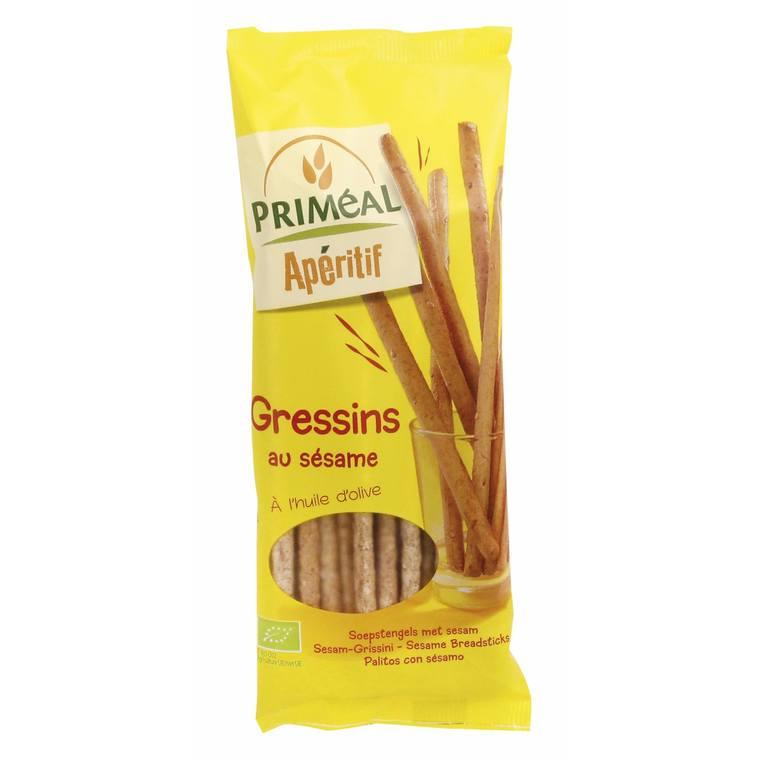 Gressins au sésame - 120 gr