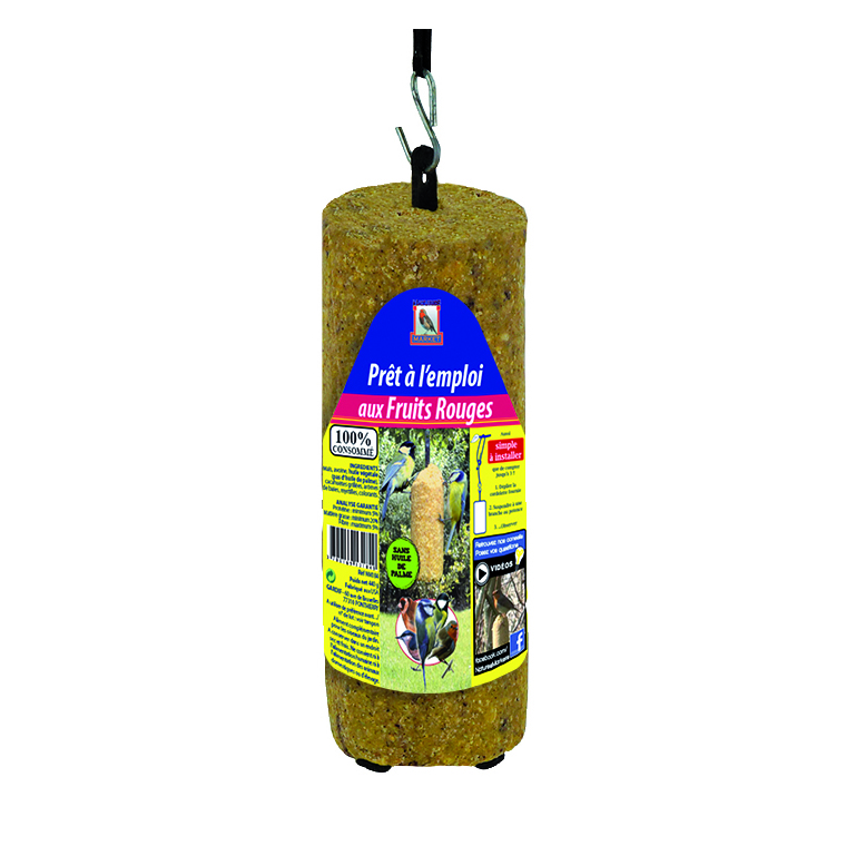 Cylindre de graisse végétale aux fruits rouges prêt à l'emploi 440 g 133614