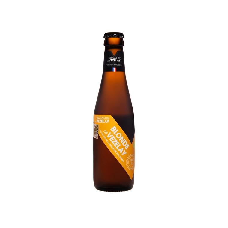 Bière blonde bio - 25 cl 134365