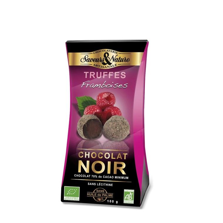Truffes de chocolat à la framboise - 100 gr 136533