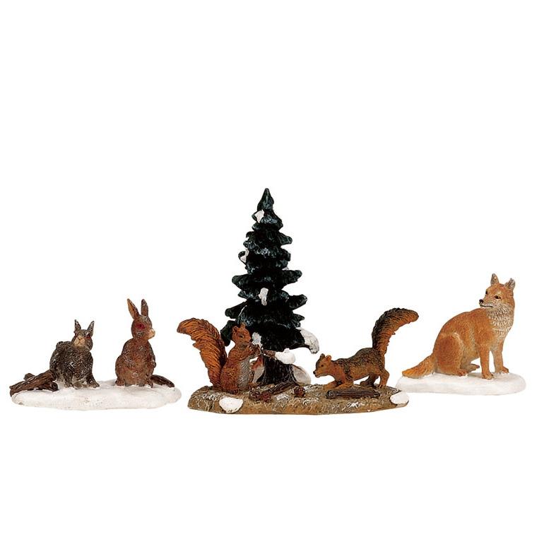 Figurine Animaux de la forêt 12.5 x 3.8 x 3.3 cm 137484