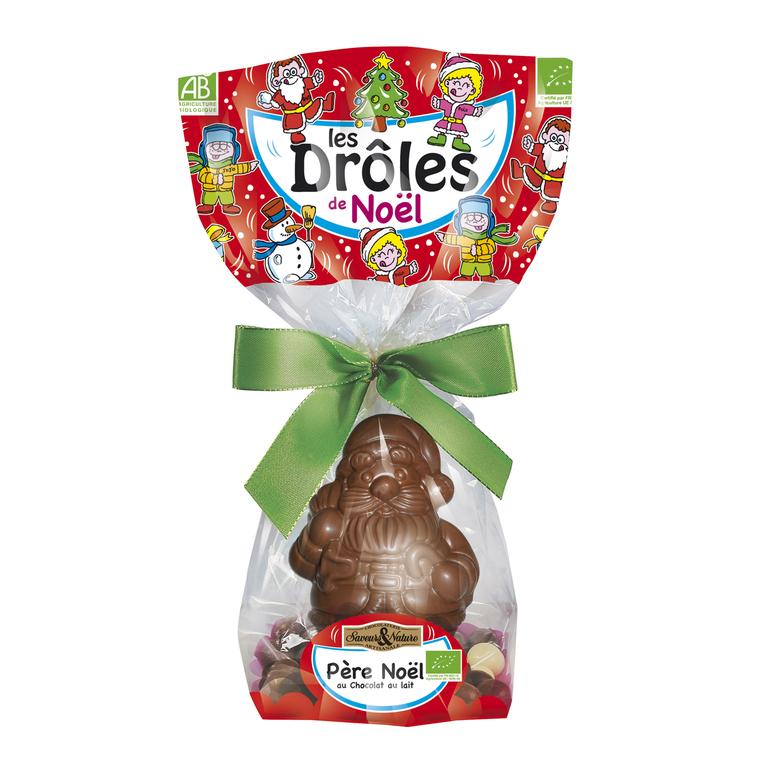 Père Noël au chocolat au lait – 110 gr 137589