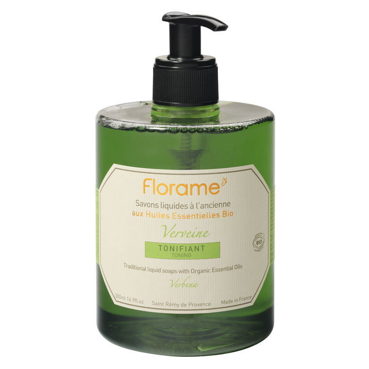 Savon liquide Bio pour les mains Verveine 500 ml 137655
