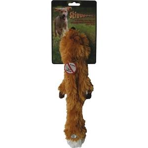 Jouet chien peluche Skinneeez renard 34cm