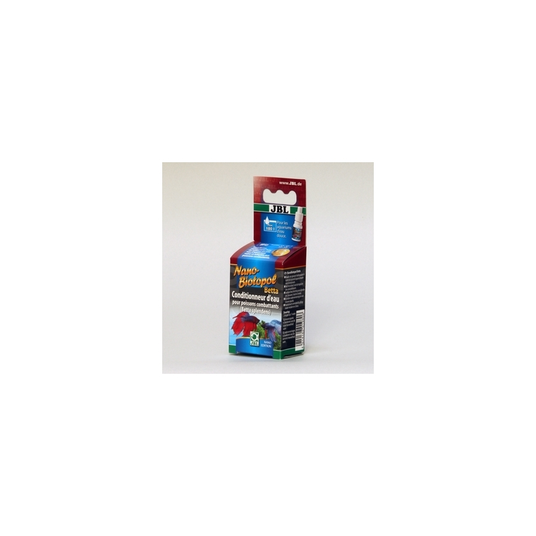 Conditionneur d'eau nano biotopol betta rouge 15 ml 14535