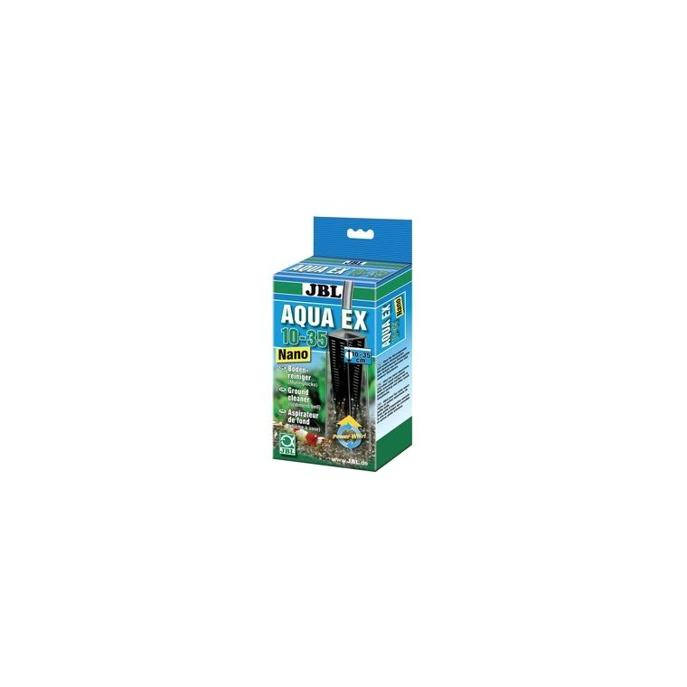 Cloche à vase Aquaex set 10-35 nano gris pour petit aquarium 14549