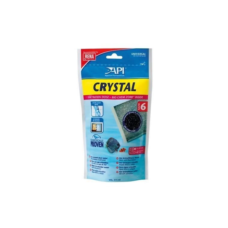 Recharge Filtre aquarium API Rena Crystal taille size 6 x1