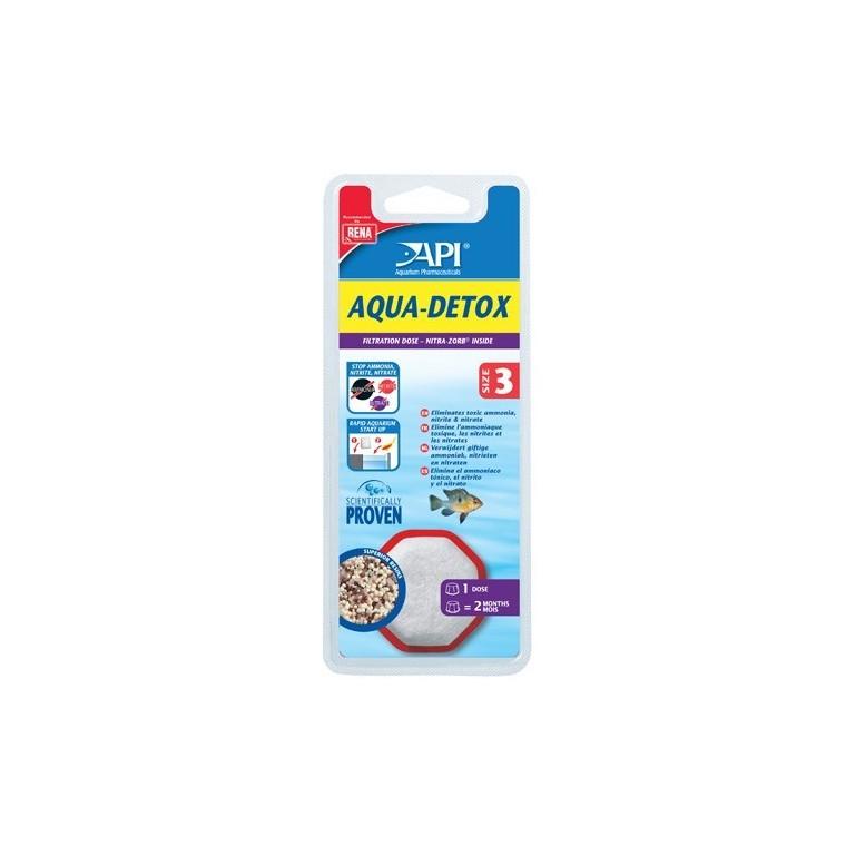 Filtre aquarium API Rena Aqua Detox size 3 x1