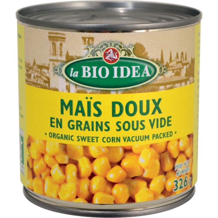 Mais doux en grains 326 g 14681
