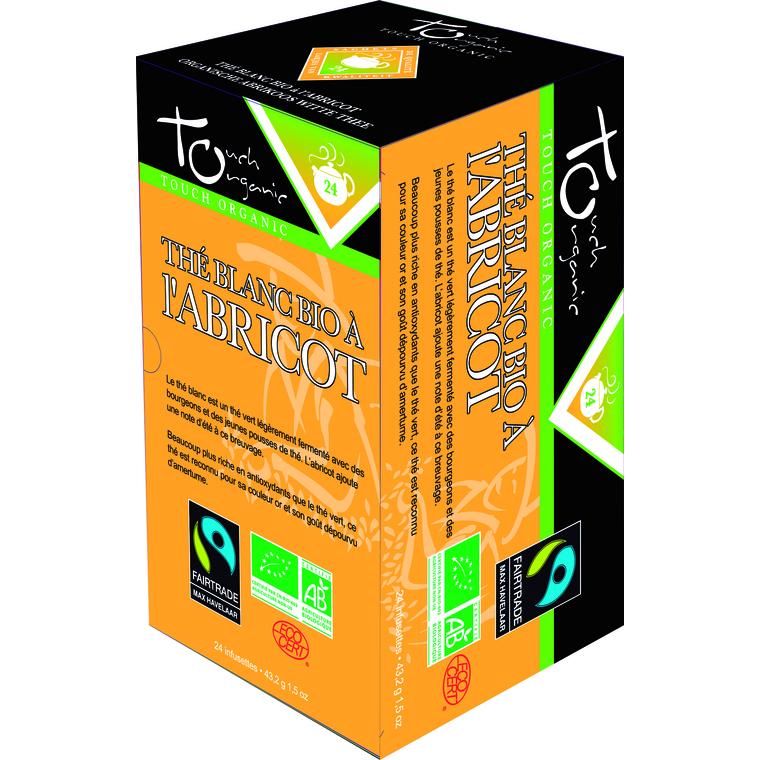 Thé blanc à l'abricot bio – 24 infusettes 149869