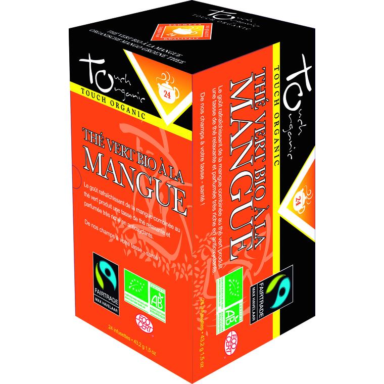 Thé vert à la mangue bio – 24 infusettes 149874