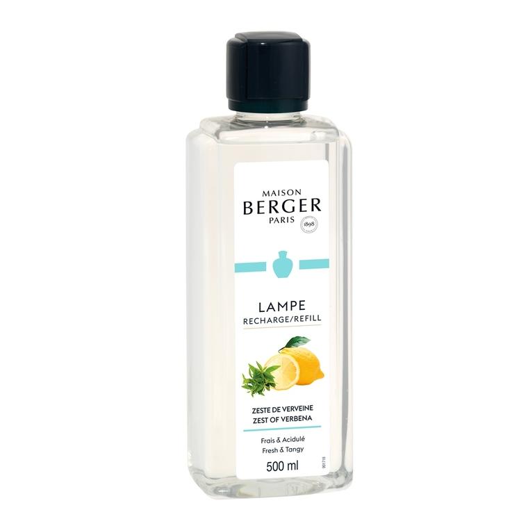 Parfum Zeste de verveine pour Lampe Berger 500 ml