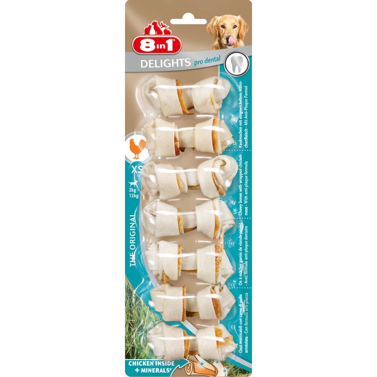 Friandises pour chien Delights 8in1 XS 7pièces