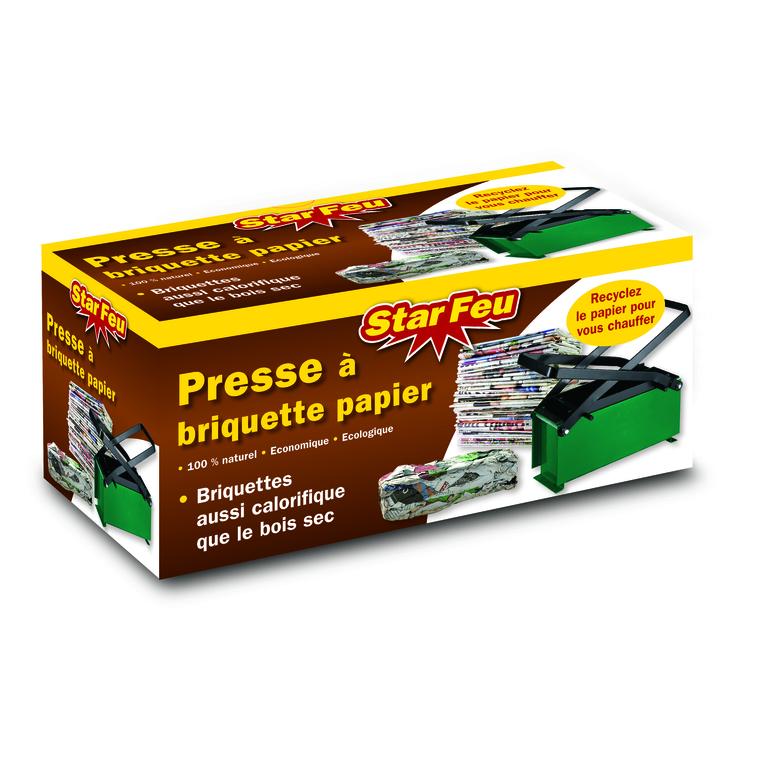 Presse briquettes papier 14x32x15 cm 151104