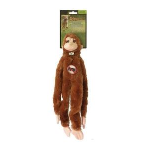 Jouet chien peluche Skinneeez singe 38cm