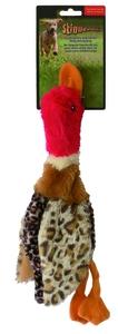 Jouet chien peluche Skinneeez canard 34cm