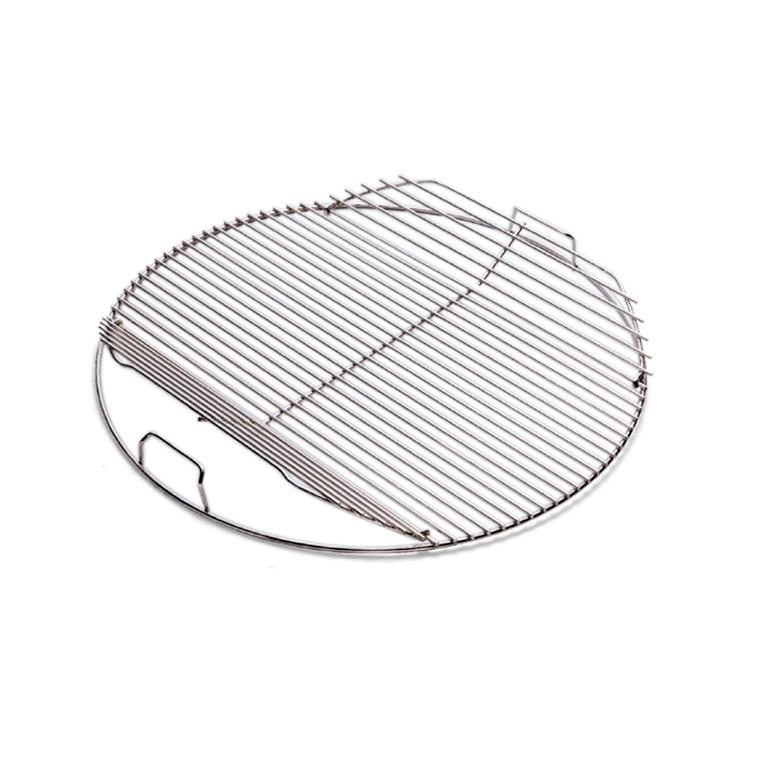 Grille de cuisson articulée pour barbecue Weber D 47 cm