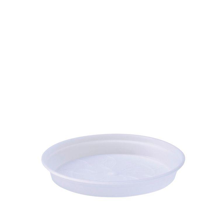 Soucoupe D14 cm pot provence Elho transparent 15554