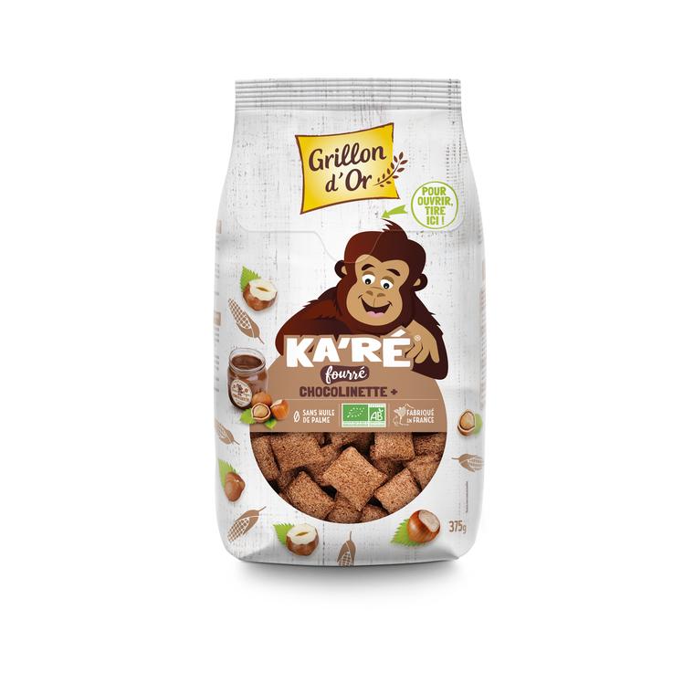 Ka'ré bio fourré à la chocolinette 375 g