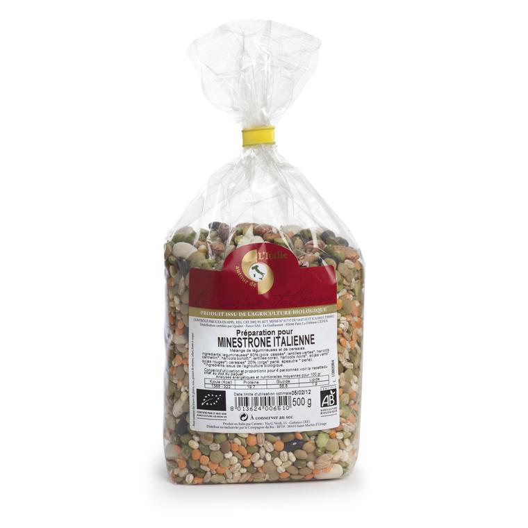 Minestrone italien bio 500 g