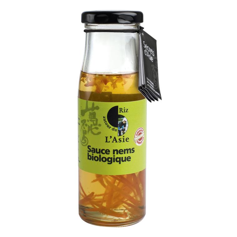 Sauce bio pour nems aigre douce 200g 156649