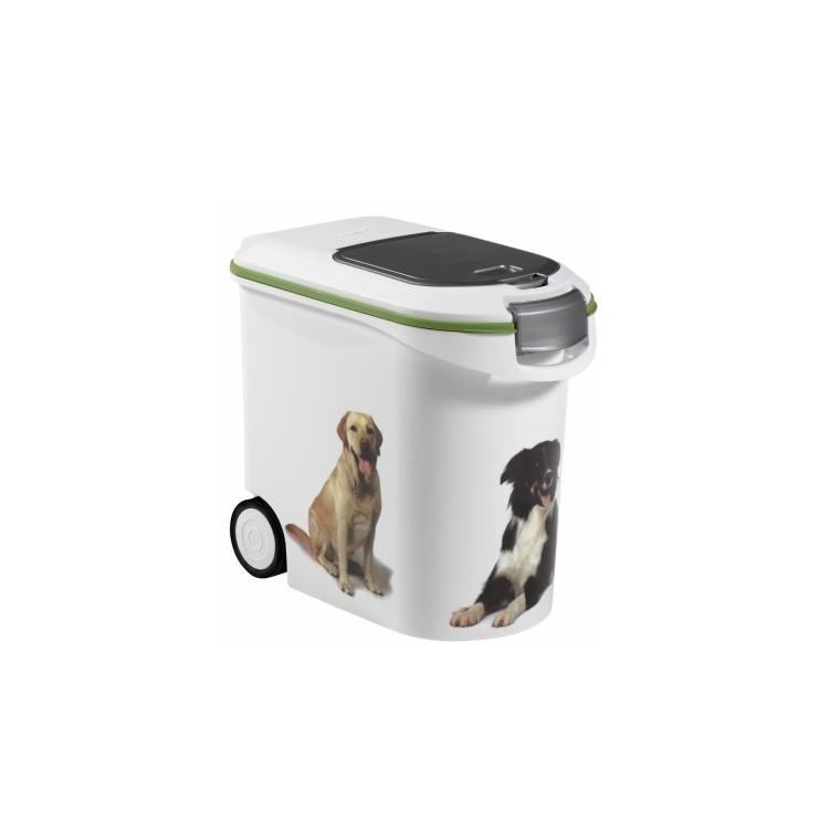 Conteneur pour chien blanc Curver 35 L