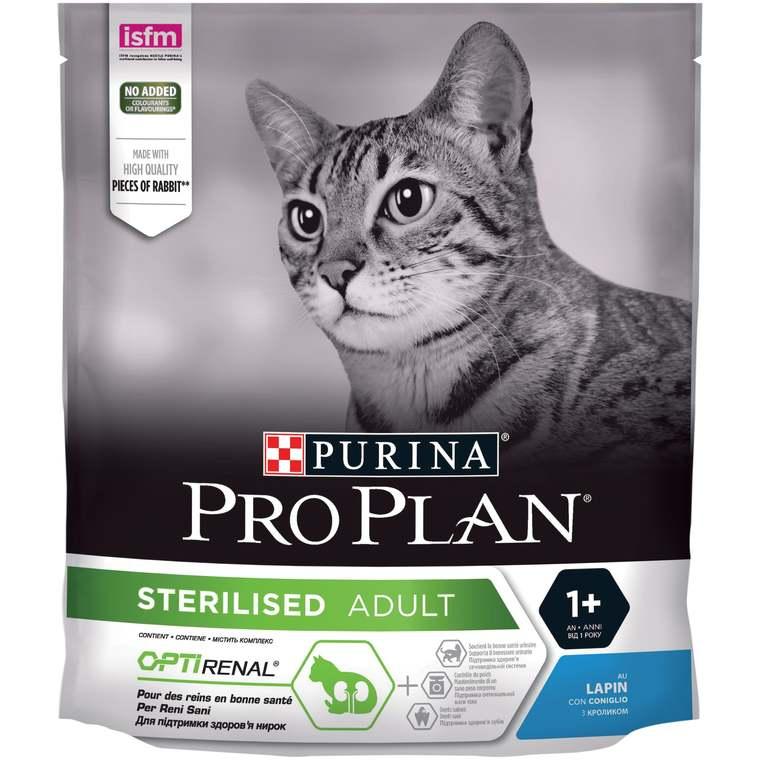 Croquettes pour chat stérilisé au lapin Pro plan 400 g 157756