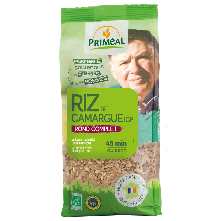 Riz rond complet Camargue 500 g 158630