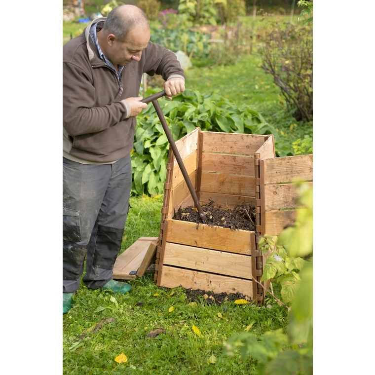 Aérateur à compost marron 159317