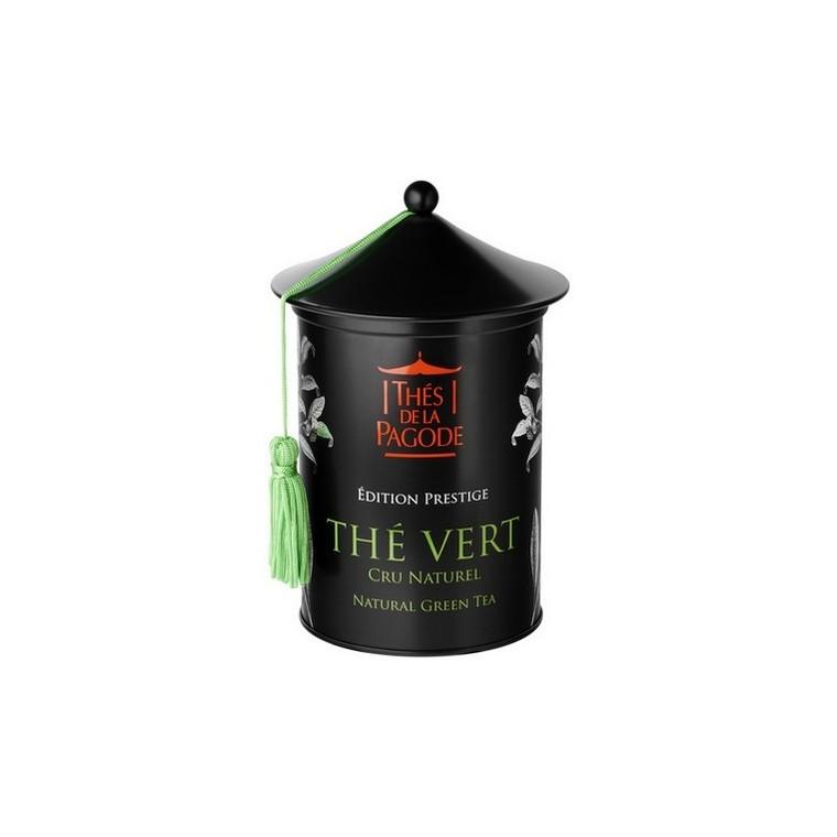 Thé vert naturel grand cru édition Prestige - boîte de 100 g 160539