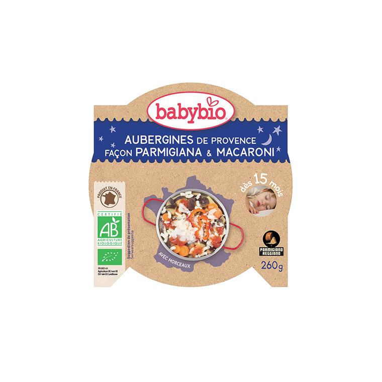 Pâtes italiennes bonne nuit Babybio 260 g 160654