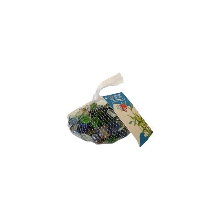 Billes plates petit modèle pour aquarium en lot de 400 g 161430