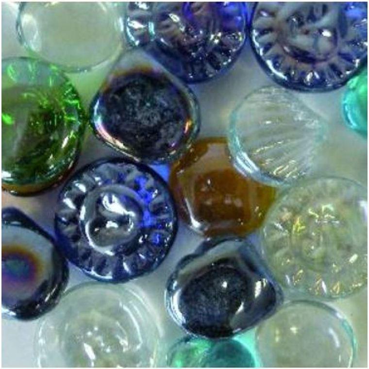 Billes coquillages pour aquarium en lot de 400 g 161433