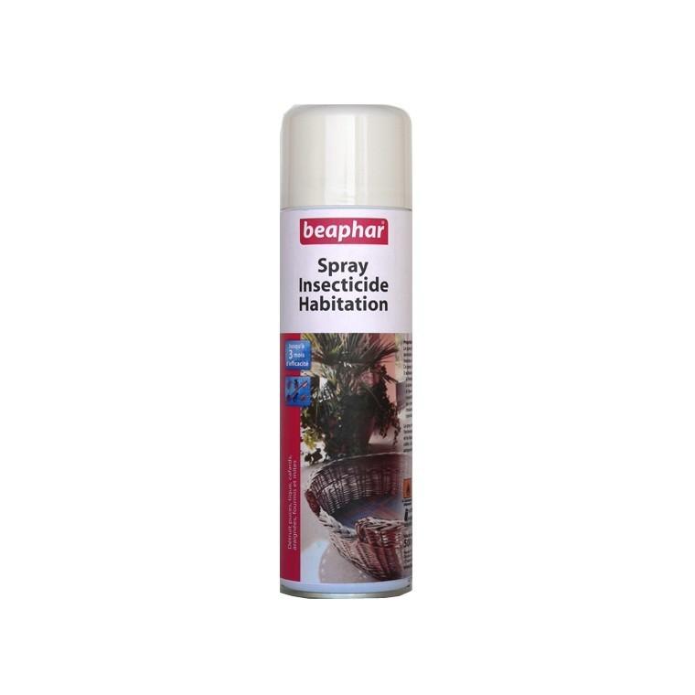 Spray insecticide habitation chien Beaphar 161466