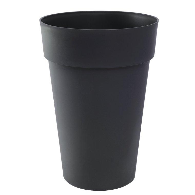 Vase haut TOSCANE Gris anthracite  Ø.46 x H.65 cm 67 litres