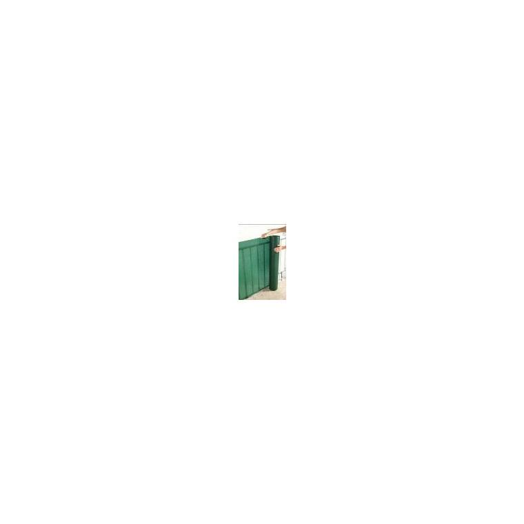 Écran extrudé spécial balcon Trionet, coloris vert, 300 x 100 cm 163354