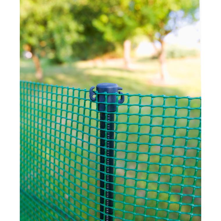 Poteau à planter Quick Post, coloris vert, H 125 cm 163362